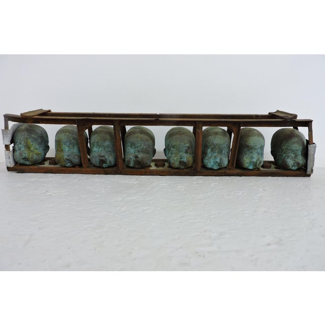 Mid 20th Century Factory Mold Toy Doll Heads For Sale - Image 5 of 5