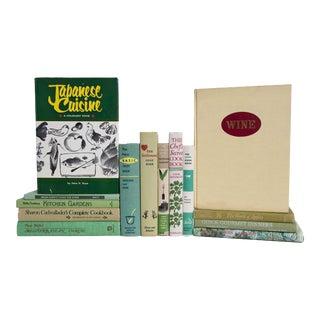 Summer Sage Cook Book Set - Set of 15 For Sale