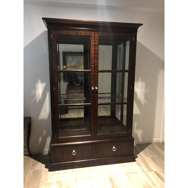Ethan Allen Ethan Allen Brighton China Cabinet For Sale - Image 4 of 4