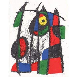 1977 Joan Miro V2-5, Mourlot Original Lithograph For Sale