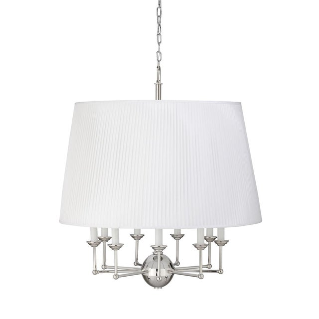 Jermyn Street Chandelier, Large For Sale In Raleigh - Image 6 of 6