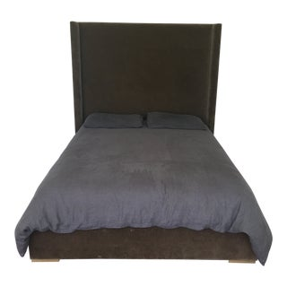 Restoration Hardware Velvet Bed For Sale