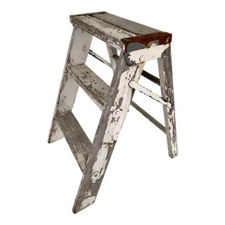 Vintage Farmhouse Step Ladder For Sale