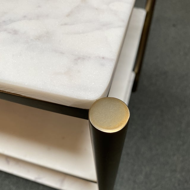 New Alder & Tweed Hollywood End Table For Sale In San Francisco - Image 6 of 11