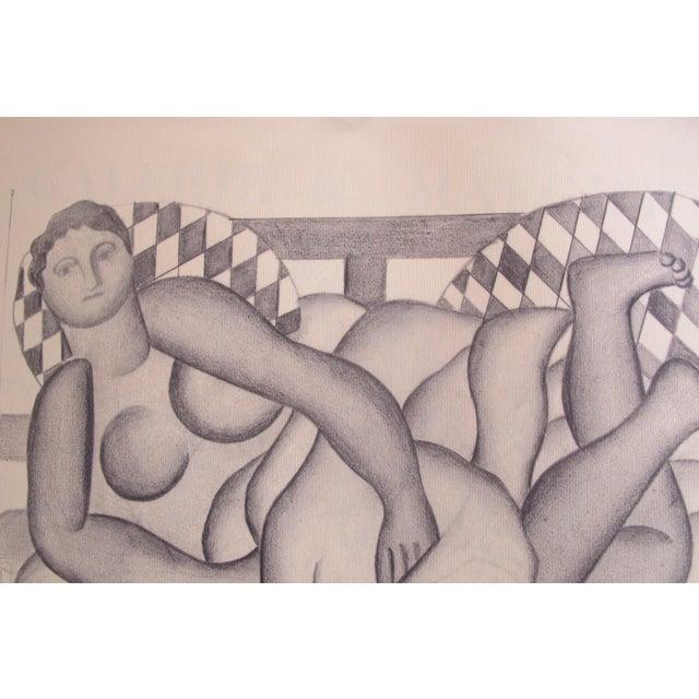 Date: 1971 Size: 20 x 25.5 inches Artist: Leger, Fernand Joseph Fernand Henri Léger or Fernand Léger (1881 - 1955) was a...