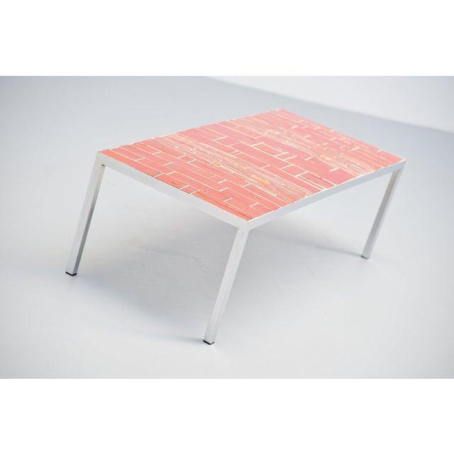 Amphora Rogier Vandeweghe Amphora Ceramic Tiles Coffee Table For Sale - Image 4 of 10