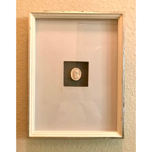 Matted and Framed Intaglio #2 For Sale - Image 4 of 4