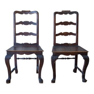 Antique Chairs- From Siena, Italy For Sale