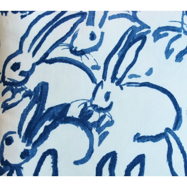 "Designer Groundworks Bunny Hutch Feather/Down Pillows 17"" Square - Pair For Sale - Image 4 of 13"