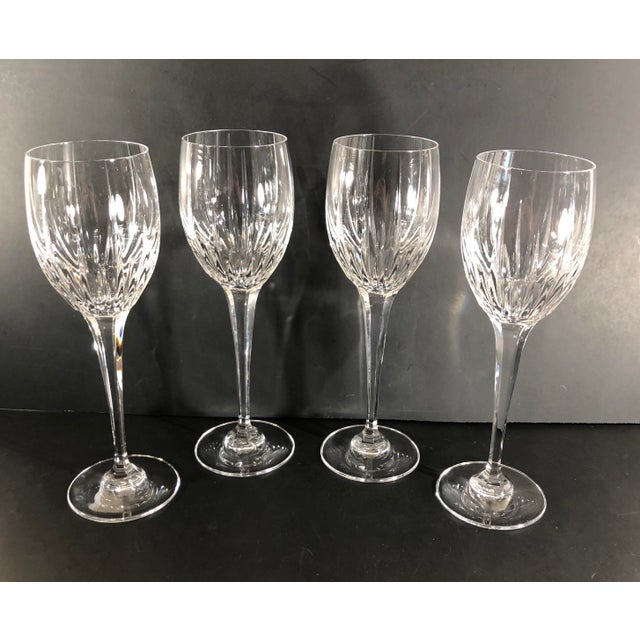 These glasses are absolutely beautiful and wonderfully cut to be light catchers. They are preloved but seem as new as can...