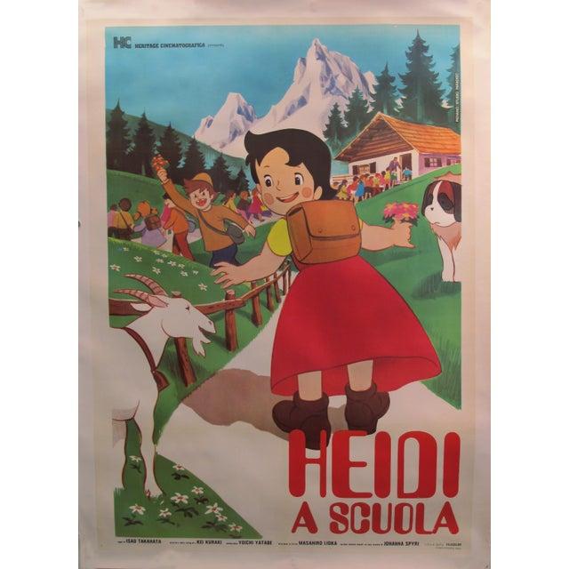 1985 Original Oversize Movie Poster (Italian Version) - Heidi For Sale - Image 6 of 6