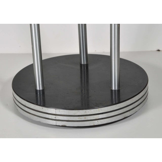 Industrial Warren McArthur machine age industrial design Smoke Stand For Sale - Image 3 of 7