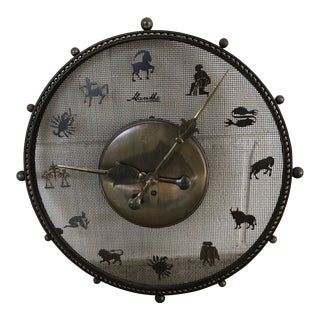 Paul Marra Mauthe Astrological Clock For Sale