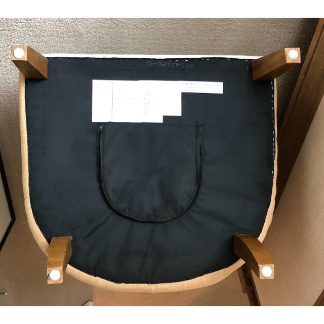 Contemporary Tufted Arm Chair For Sale - Image 3 of 9