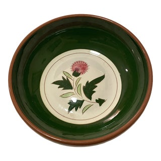 Stangl Thistle Pottery Trinket Bowl For Sale
