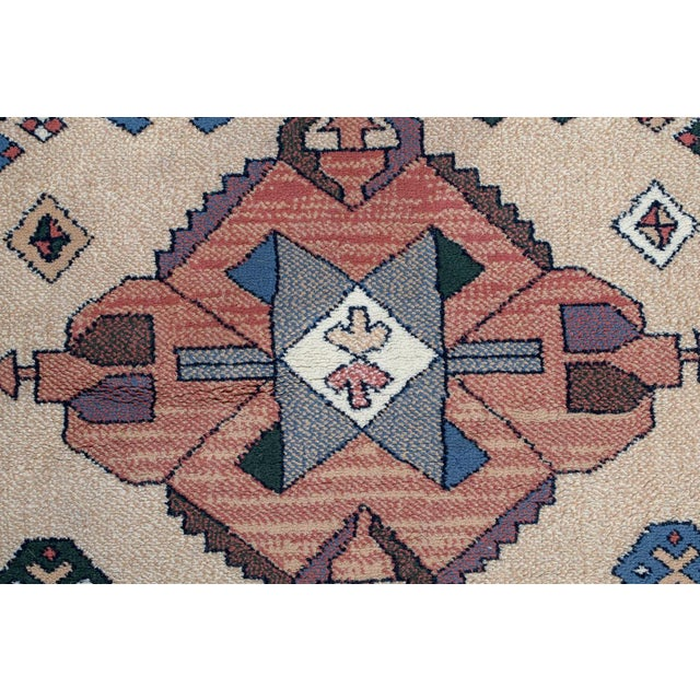 Late 20th Century Aztec Style Rug - 5′6″ × 7′10″ For Sale - Image 5 of 9