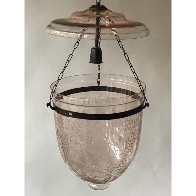 Pink Bell Jar Lantern For Sale - Image 4 of 11