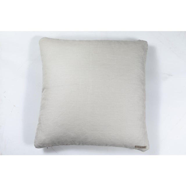 2010s Indian Handwoven Pillow For Sale - Image 5 of 6