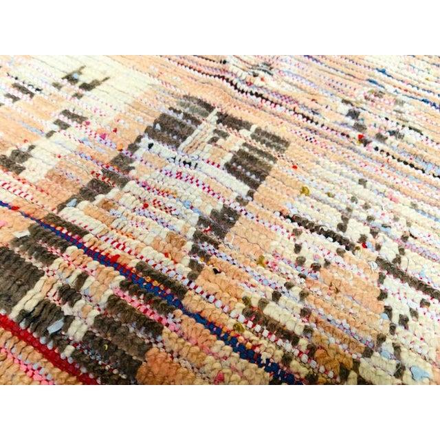 Goldenrod Vintage Berber Handmade Rug- 2′9″ × 4′1″ For Sale - Image 8 of 11