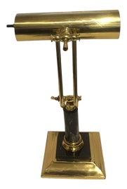 Image of Black Marble Desk Lamps