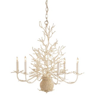 Currey & Company Seaward Chandelier For Sale
