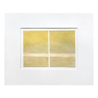 "Janise Yntema ""Celedon Mist"", Painting For Sale"