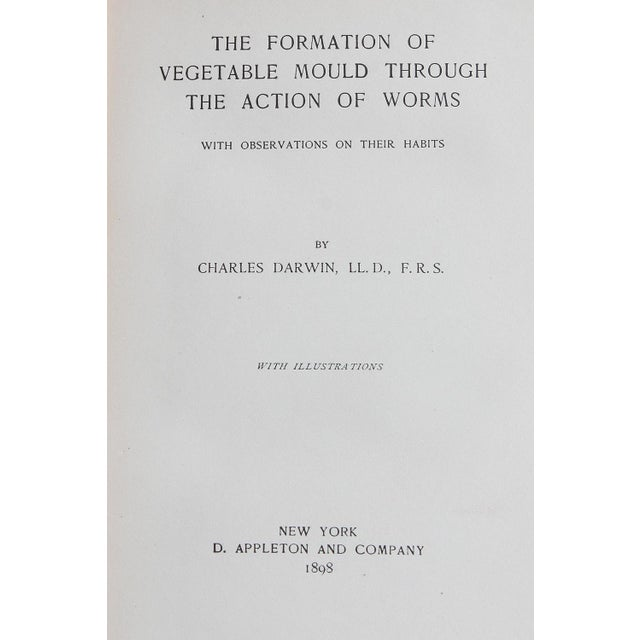 Darwin's Formation of Vegetable Mould Book - Image 2 of 3