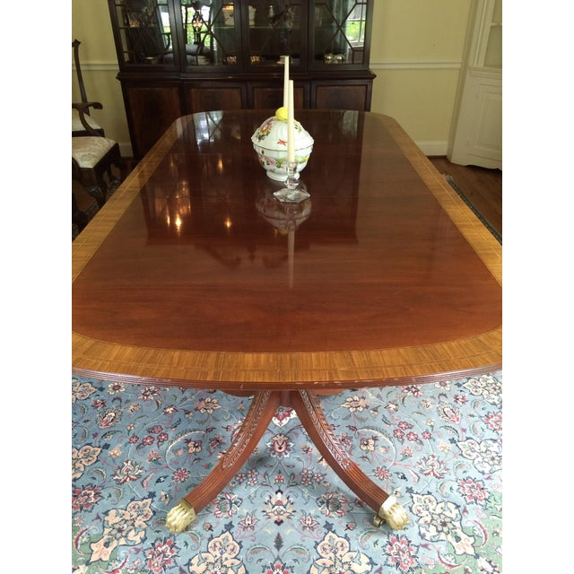 Stickley Classics Mahogany Collection Dining Table - Image 6 of 8