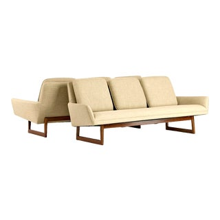 Jens Risom Pair of Sofas Circa 1960's For Sale