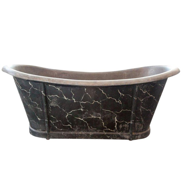 French Zinc Tub For Sale