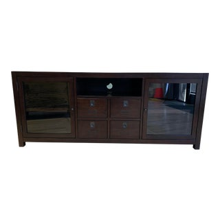Pottery Barn Media Cabinet For Sale
