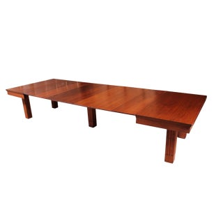 Square Mahogany Banquet Table