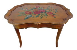 Image of Newly Made English Traditional Side Tables