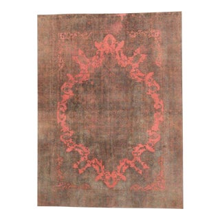 "20th Century Turkish Wool Rug - 9'2"" X 12'3"" For Sale"