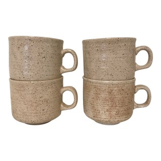 Vintage Earthenware Coffee Mugs