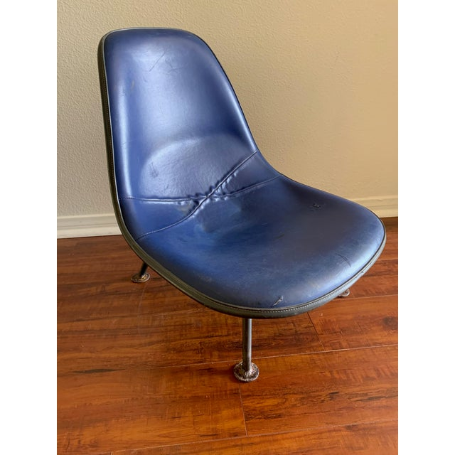 1950s Herman Miller Eames Reconfigured One of a Kind Shell Chairs For Sale - Image 5 of 13