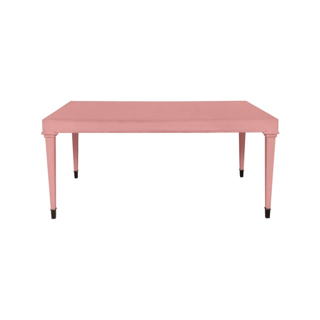 Traditional Casa Cosima Living Darby Dining Table - Amaryllis For Sale - Image 3 of 3