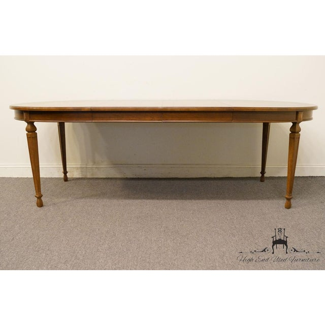 "Late 20th Century 20th Century Traditional Drexel Ponte Vecchi Collection 92"" Dining Table For Sale - Image 5 of 11"