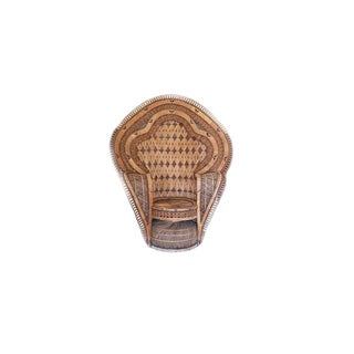 1970s Vintage Rattan King Cobra Chair For Sale