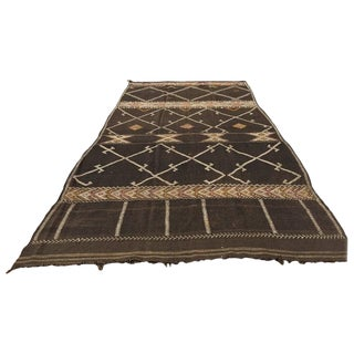 Vintage Moroccan African Nomadic Tribal Rug - 6′ × 14′ For Sale