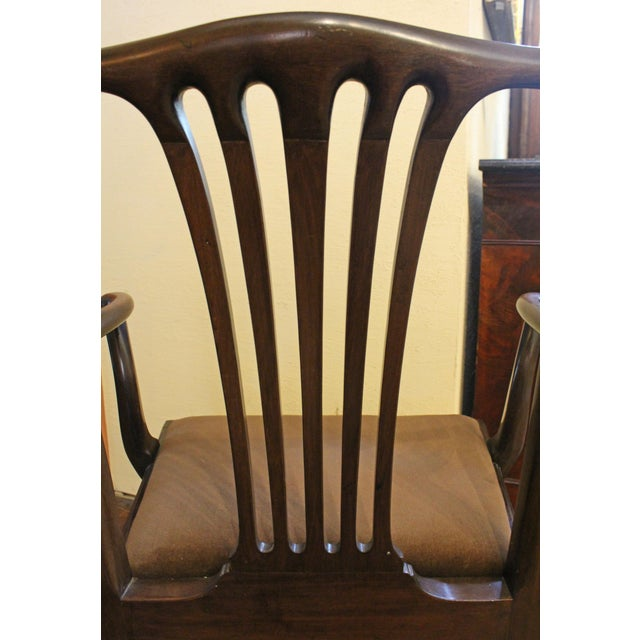 Dining Chippendale Style Chairs - Set of 8 For Sale - Image 9 of 10