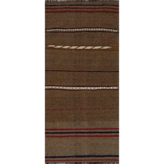 "Handwoven Kilim Area Rug 2'6""x5'5"" For Sale"