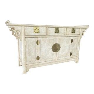 Vintage Century Sabota Pagoda Altar James Mont Style Credenza For Sale