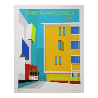 "Michael Murphy ""Pacific Heights Rice-A-Roni"" Print For Sale"