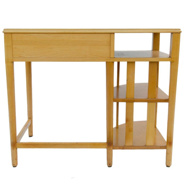 Mid-Century Modern Mid-Century Hill-Rom Maple Desk For Sale - Image 3 of 8