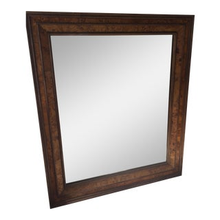 Wood Framed Wall Mirror