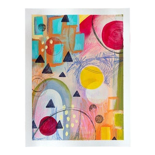 Original Geometric Abstract Painting For Sale