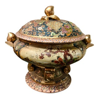 Satsuma Footed Tureen For Sale