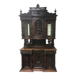 Antique French Renaissance Revival Hutch