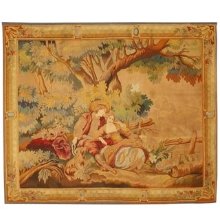 Antique 19th Century French Tapestry For Sale